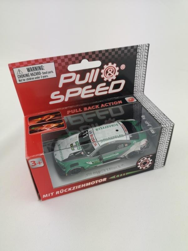Pull & Speed 1:43 mit Rückziehmotor DTM BMW M4 No.11