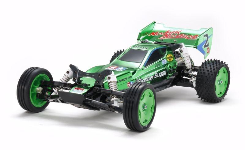 Neo Fighter Green Metallic 2WD Buggy 1/10 DT-03 Bausatz