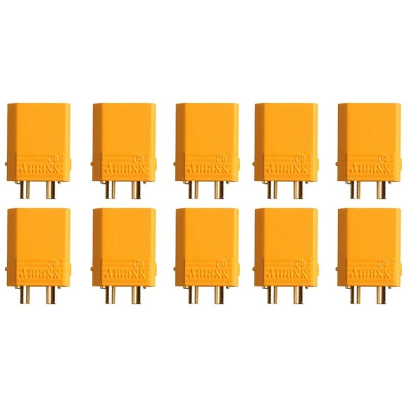 Goldkontakt XT30U Stecker (10 Stück)