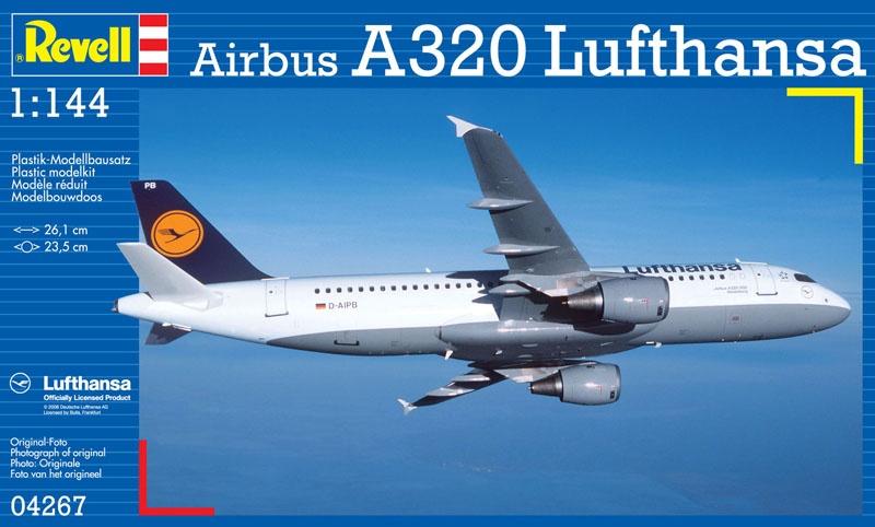 Airbus A320 Lufthansa 1:144