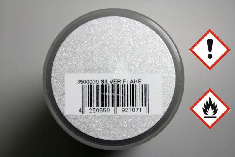 PAINTZ silber flake 150 ml Polycarbonat Spray - Lexanfarbe