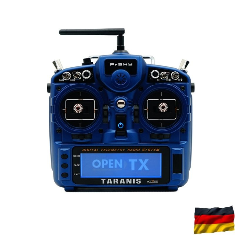 TARANIS X9D plus 2019 SE EU/LBT Sender Night Blue + R8pro