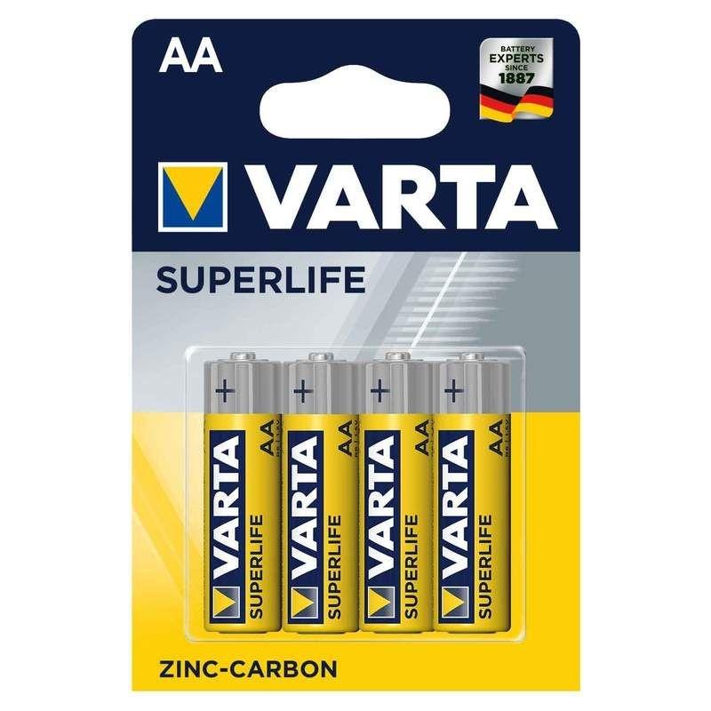 Varta AA Mignon Superlife (4 Stück)
