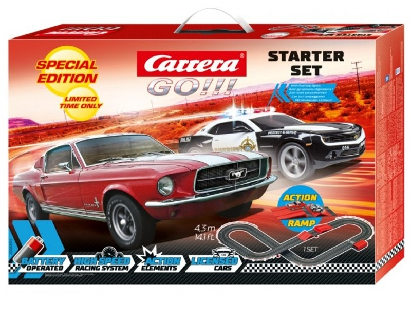GO!!! Startpackung Amerika Spezial Edition Batteriebetrieben