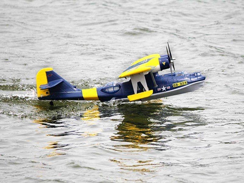 Catalina PBY 1470mm Wasserflugzeug PNP in blau