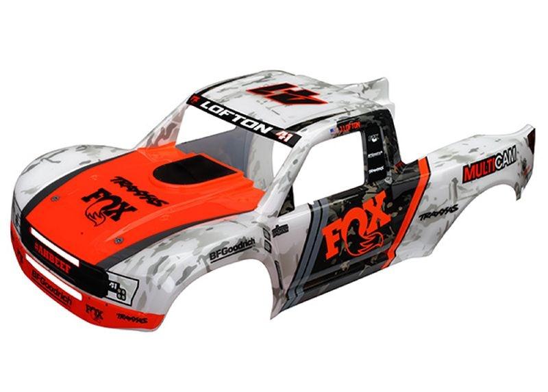 Karosserie Fox Edition fertig lackiert für Desert Racer