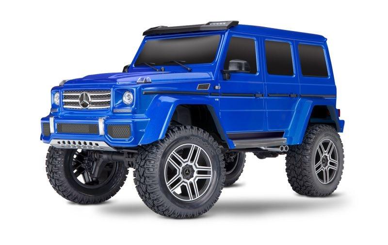 TRX-4 Mercedes G500 4x4 1/10 Scale & Trail Crawler RTR blue