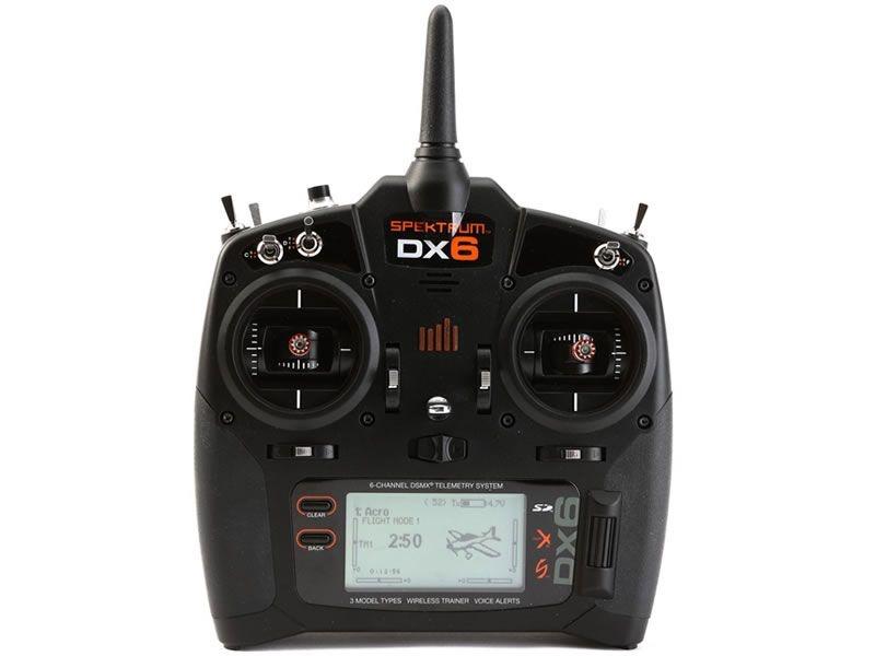 DX6 G3 6-Kanal DSMX Fernsteuerung + AR6600T Empfänger