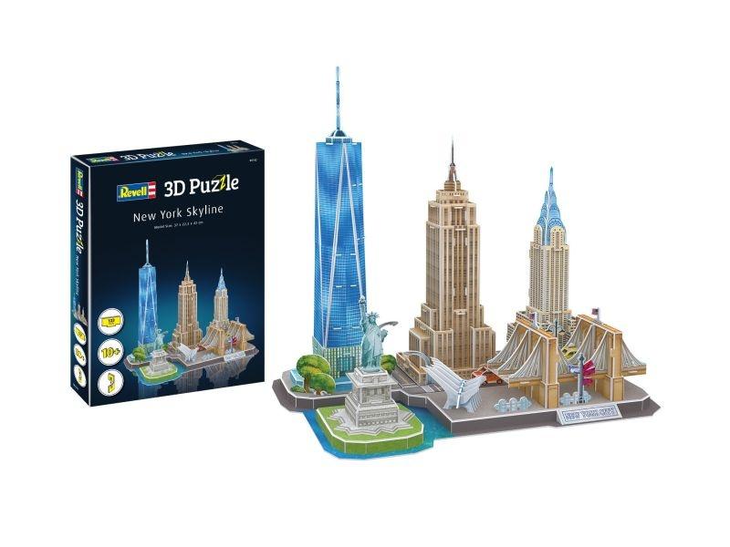 3D Puzzle New York Skyline 123 Teile