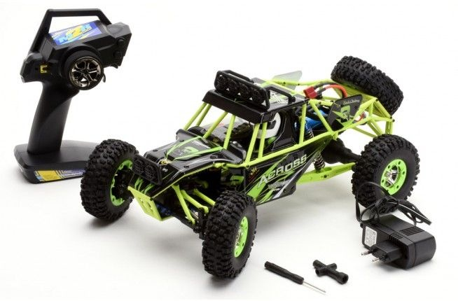 Across 4WD Rock Crawler 1:12 RTR 2,4GHz mit Akku + Lader