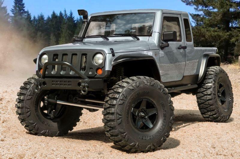 CFX-W JP1 4WD Crawler 1/10 2,4GHz RTR, silber