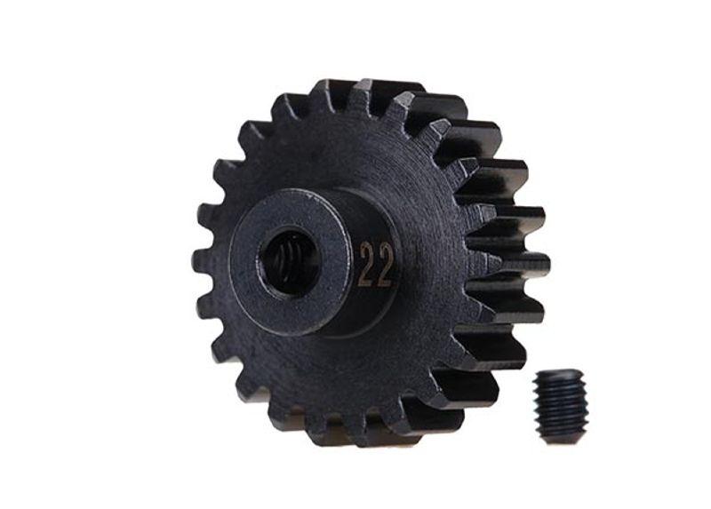 Stahl (gehärtet) Motorritzel 22T - 32dp (3,17mm)