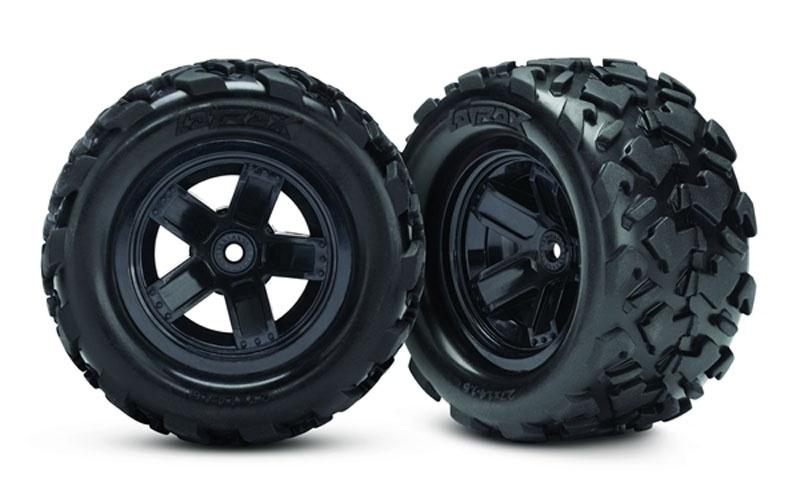 Reifen auf Felge montiert (2) Teton