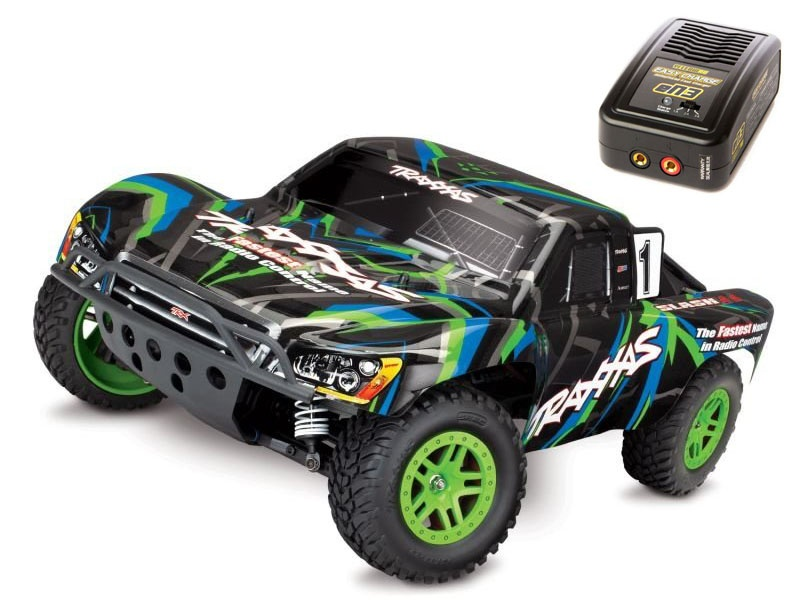 Slash 4x4 Short Course Truck 1/10 TQ 2,4GHz + 230V Ladegerät