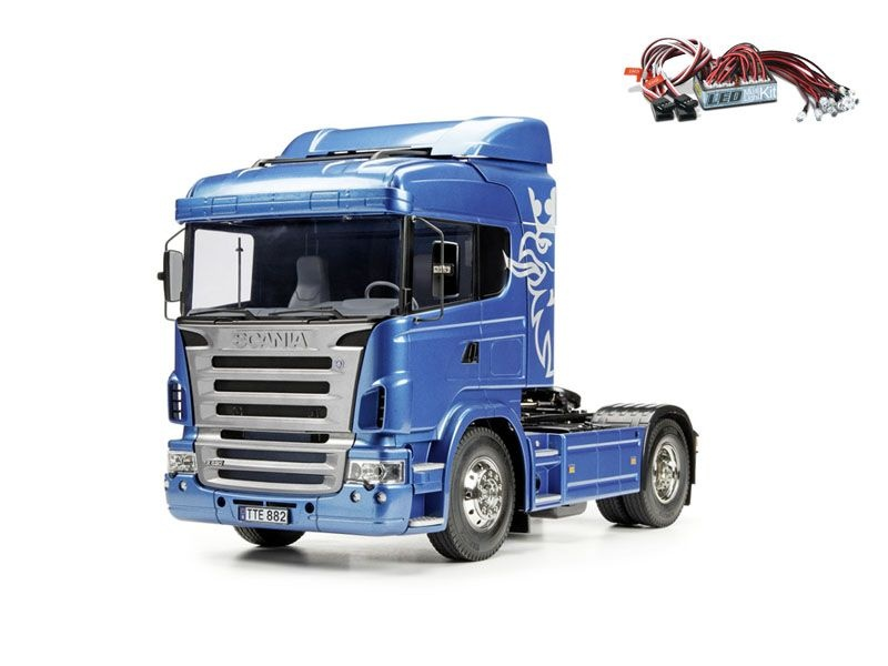 Scania R470 Highline - Exklusiv + LED-Lichtset