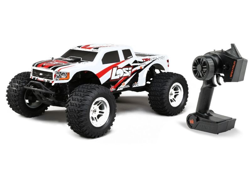 Tenacity 4WD Brushless Monster Truck 1:10 RTR mit AVC - weiß