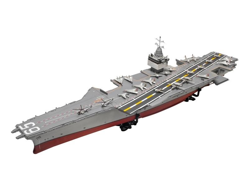 USS Enterprise CVN-65 Bausatz Limited Edition 1:400