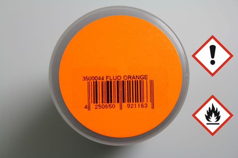 PAINTZ FLUO orange 150ml Polycarbonat Spray - Lexanfarbe
