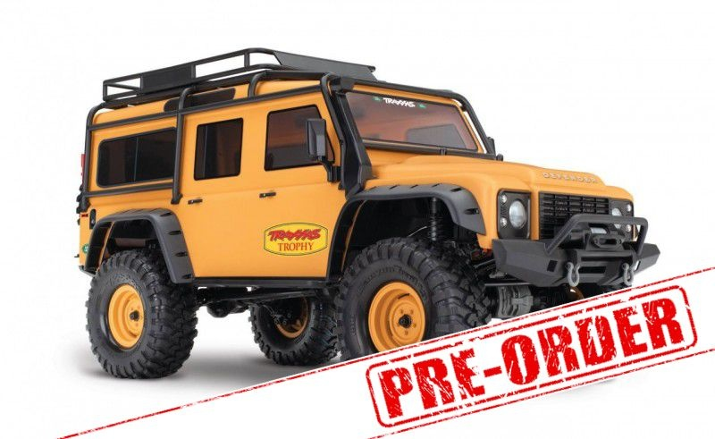TRX-4 Scale Crawler Land Rover Defender Trophy 1:10 4WD RTR
