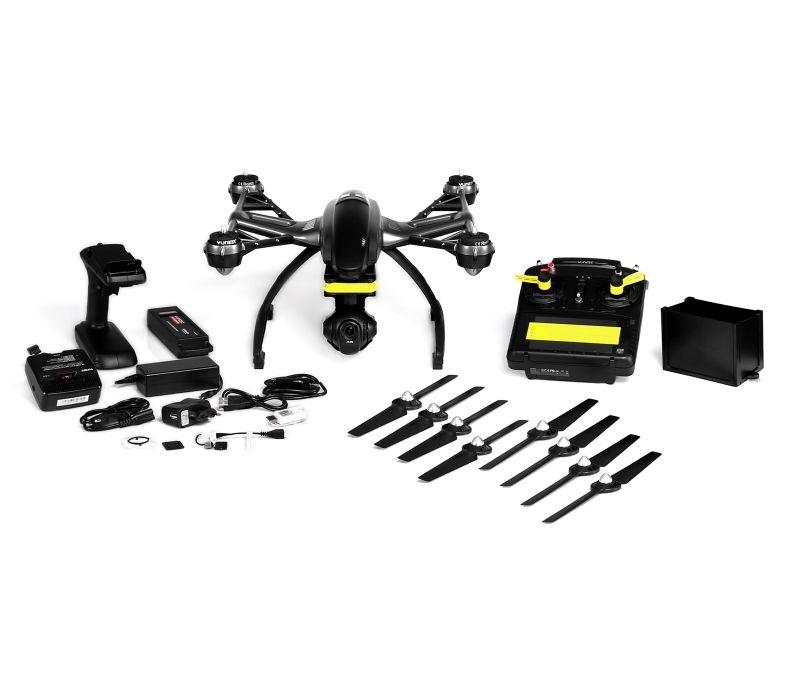Q500 4K mit CGO3 Kamera, ST10+, Akku und Steadygrip