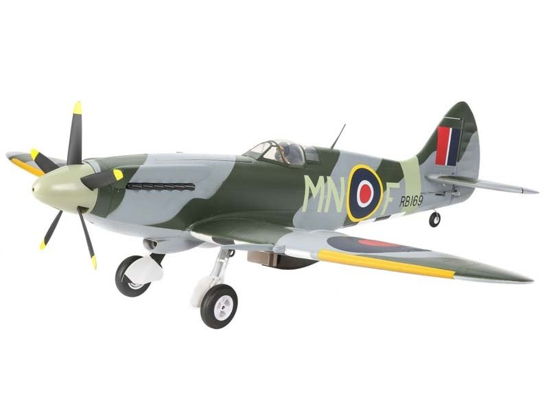 Spitfire Mk XIV 1,2 m BNF Basic mit AS3X-Technologie
