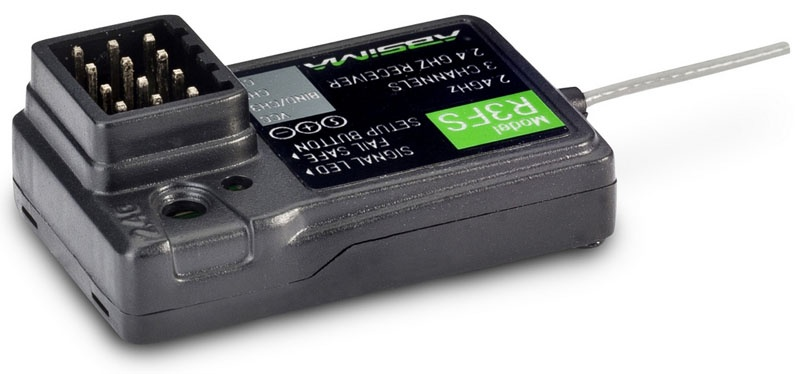 3 - Kanal Empfänger R3FS 2,4 GHz