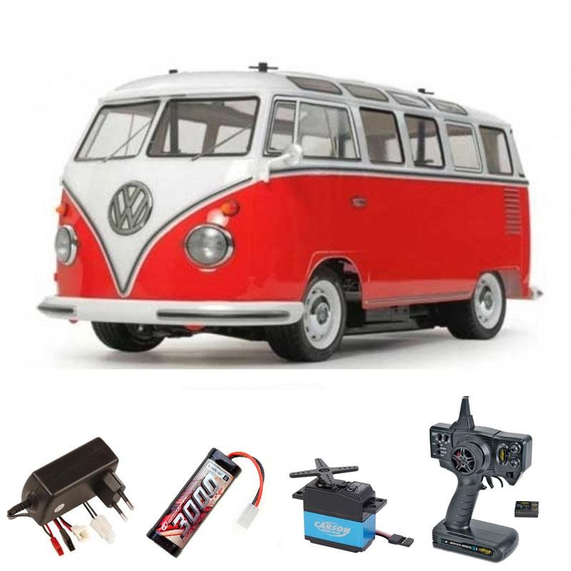 VW Bus T1 Samba (vorlackiert) 2WD M-06 1/10 Komplettset