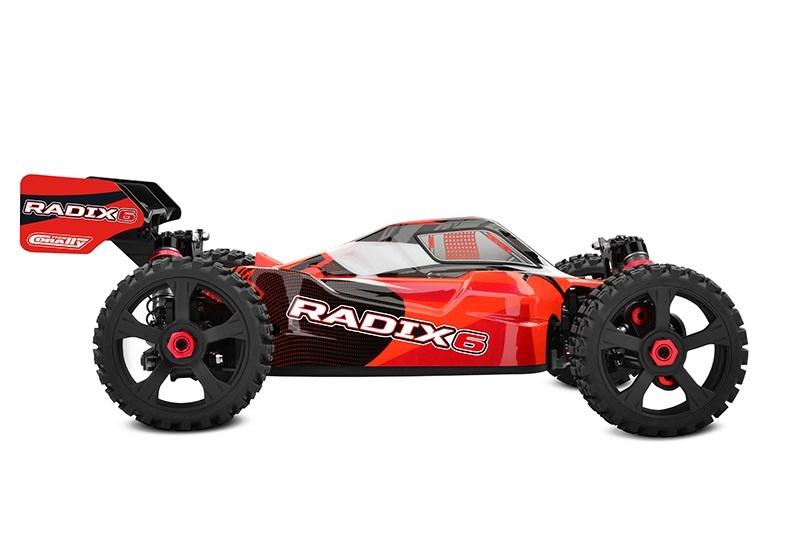 RADIX6 XP 6S 4WD Brushless Buggy 1:8 2,4GHz RTR - Neu 2021