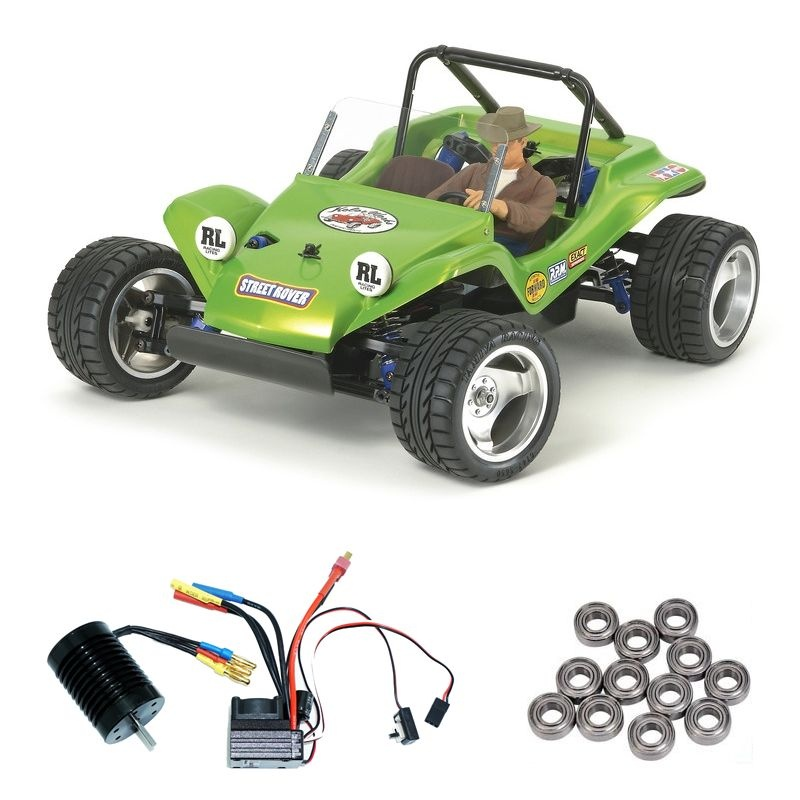 Street Rover 2WD Strandbuggy DT-02 Brushless-Edition + Lager