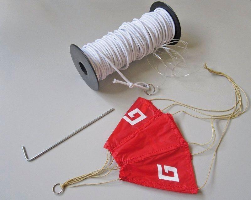 Gummi-Hochstarteinrichtung light für Segelflugmodelle