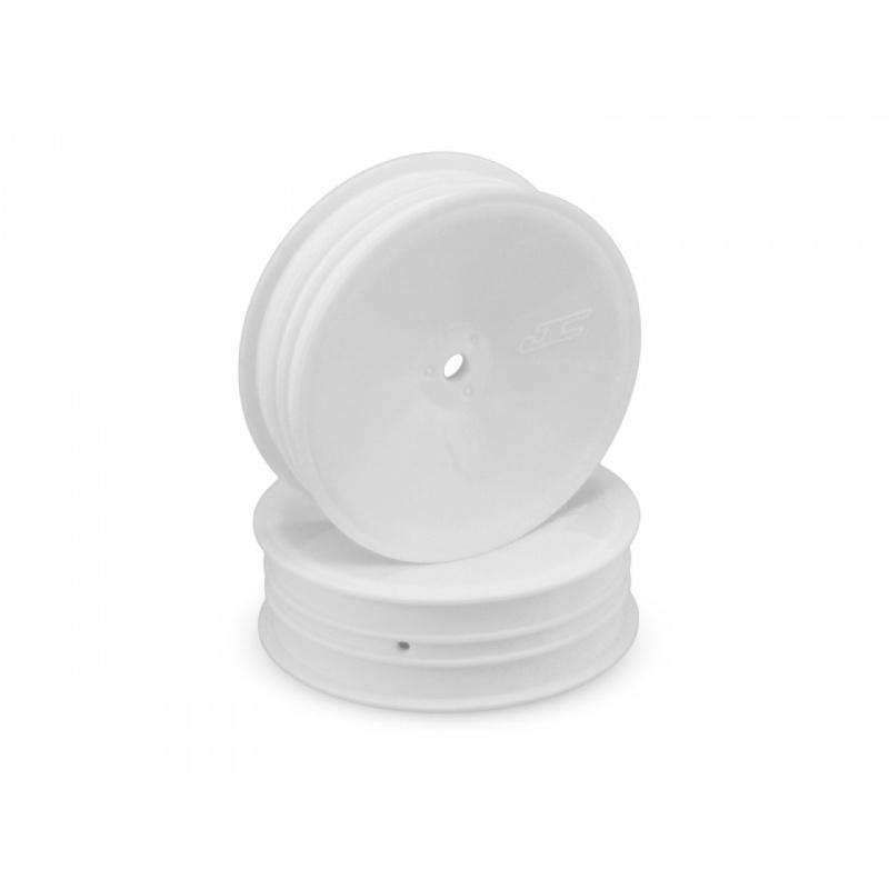 Mono 2.2 Frontfelgen schmal für B6.1, 12mm weiß (4 Stück)