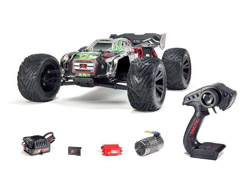 Kraton 6S BLX 4WD 1/8 Monster Truck RTR grün - NEW2018