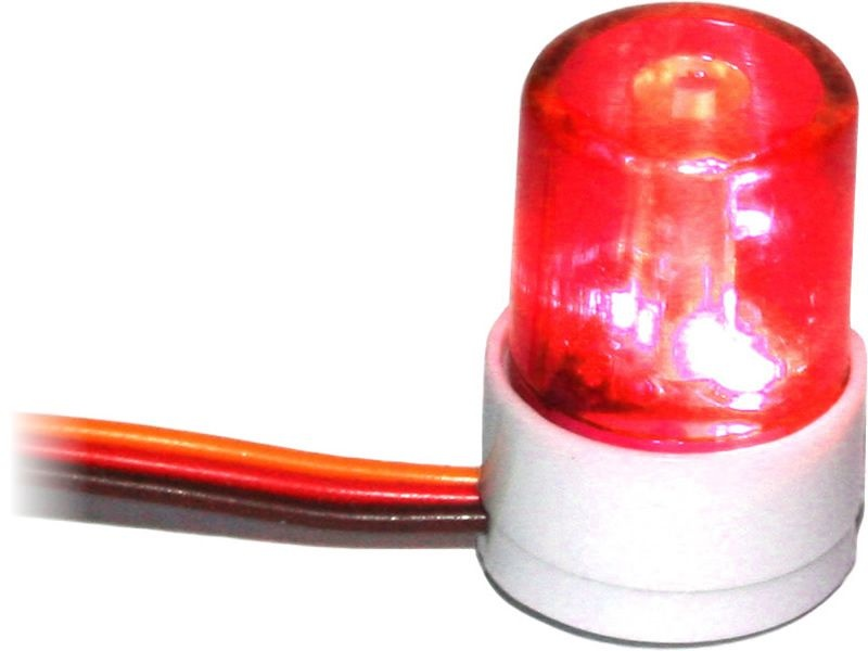 Dach Blinklicht V5 rot für 1/10 Tourenwagen und Drifter