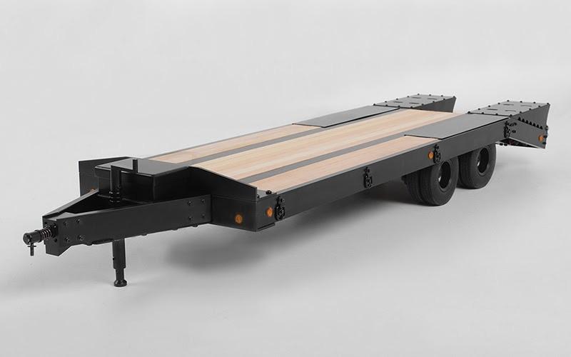 Big Dog Aluminium 2-Achs Schwerlastanhänger 1:14 mit LED