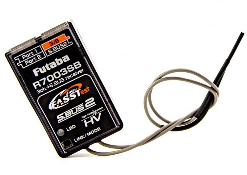 R7003SB 3/18-Kanal Empfänger 2,4 GHz S.BUS2 FASSTest