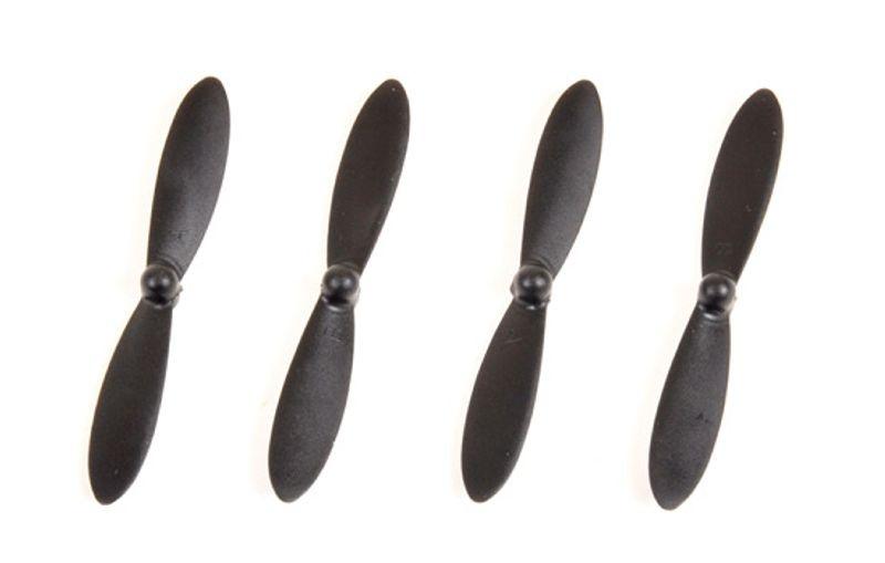 Rotorblätter schwarz für Spyrit Race 3.0 (4)