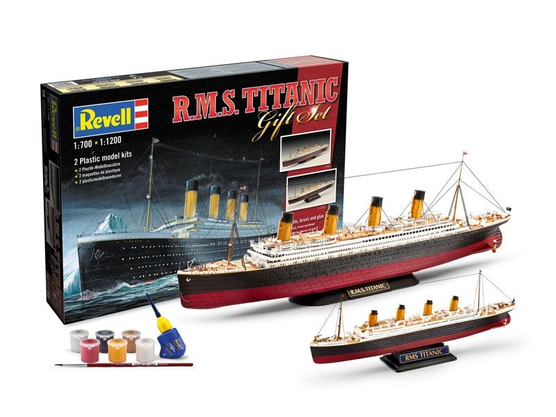 Geschenk-Set R.M.S. Titanic