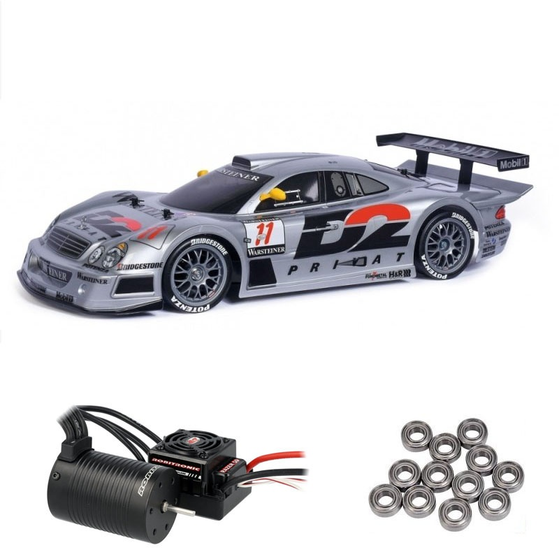 Mercedes-Benz CLK-GTR 1997 (TT-01E) 1:10 Brushless Edition