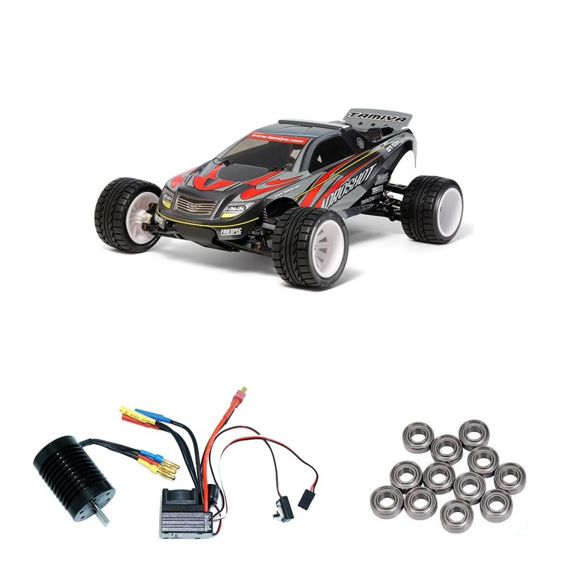 Aqroshot 1/10 Truggy DT-03T Brushless-Edition + Kugellager
