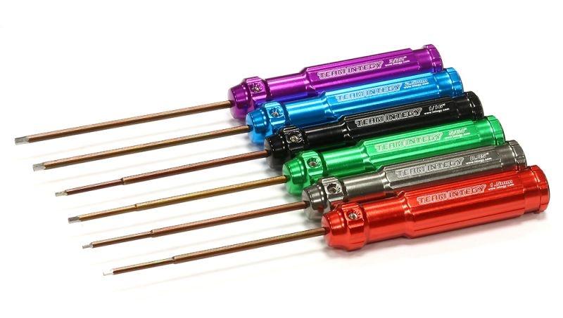 Werkzeug Set Federstahl Innensechskantschlüssel zöllig (6)