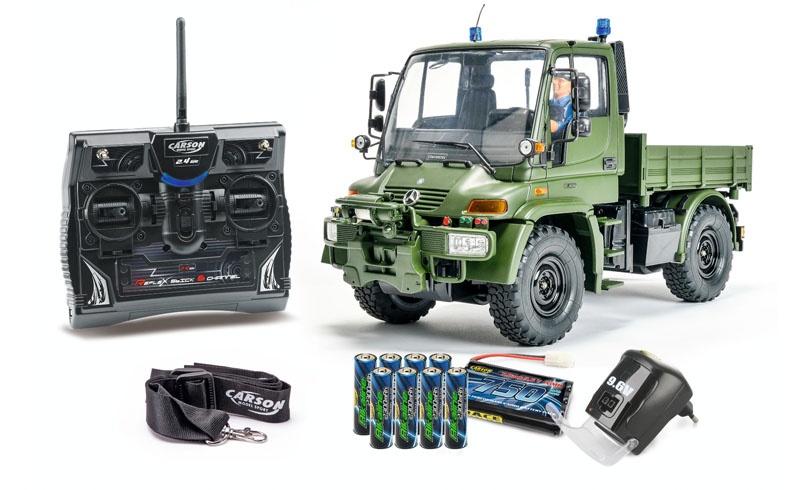 1:12 MB Unimog U300 Militär 1