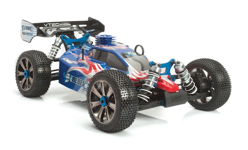 LRP S8 Rebel BX 2.4GHz RTR LIMITED EDITION - 1/8 Verbrenner