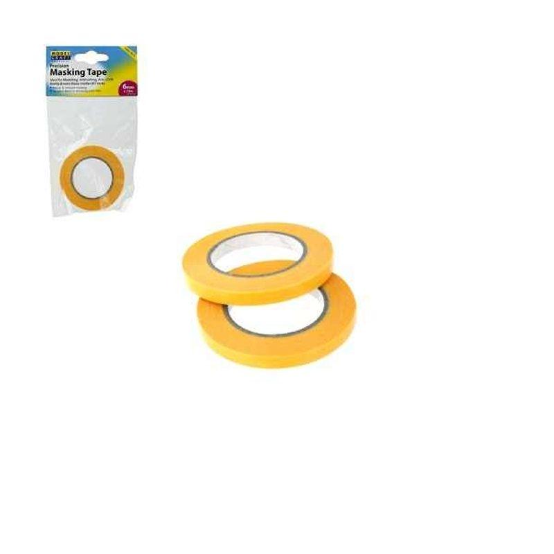 Präzisions-Abklebeband 6mm x 18m  2er Pack