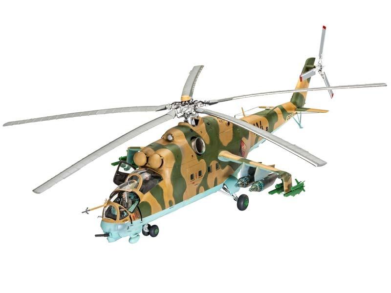 Mil Mi-24D Hind-D 1:48