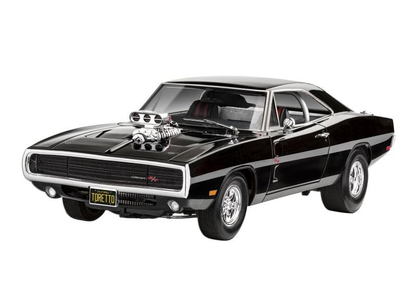 Fast & Furious - Dominics 1970 Dodge Charger Bausatz 1:24