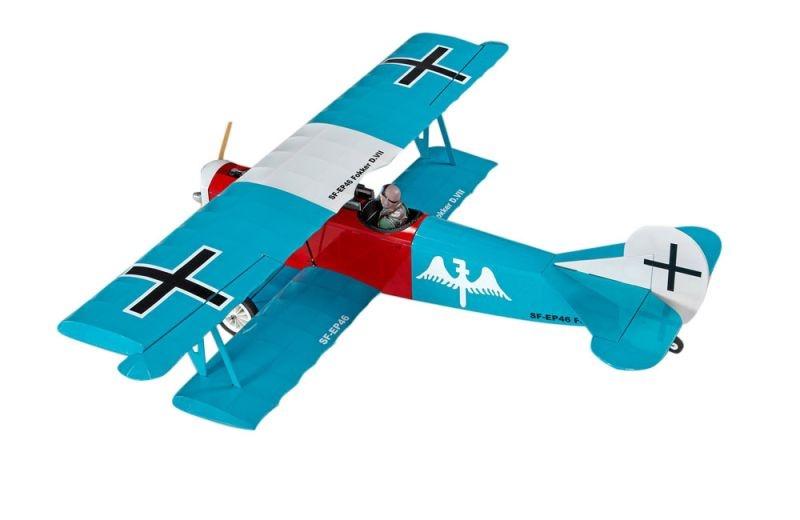 SFM Fokker DVII EP ARTF Teal