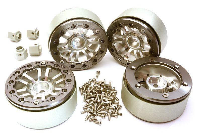 CNC Aluminium 1.9 Speichenfelge inkl. 12mm Adapter, TRX-4