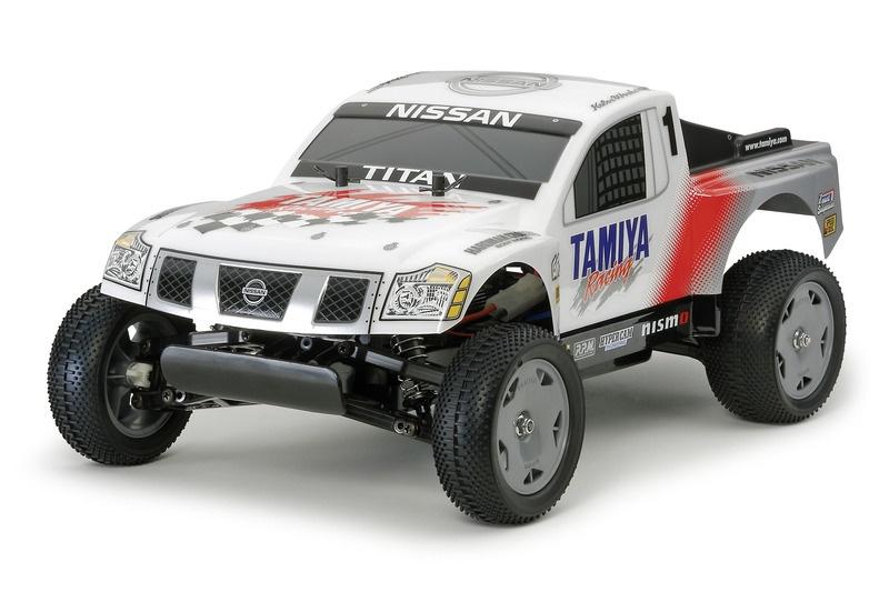 Nissan Titan Racing DT-02 1:12 inkl. Regler