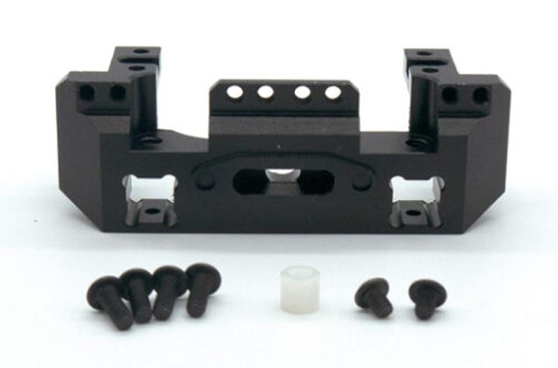 Aluminium Servohalter für Seilwinde - passend für TRX-4
