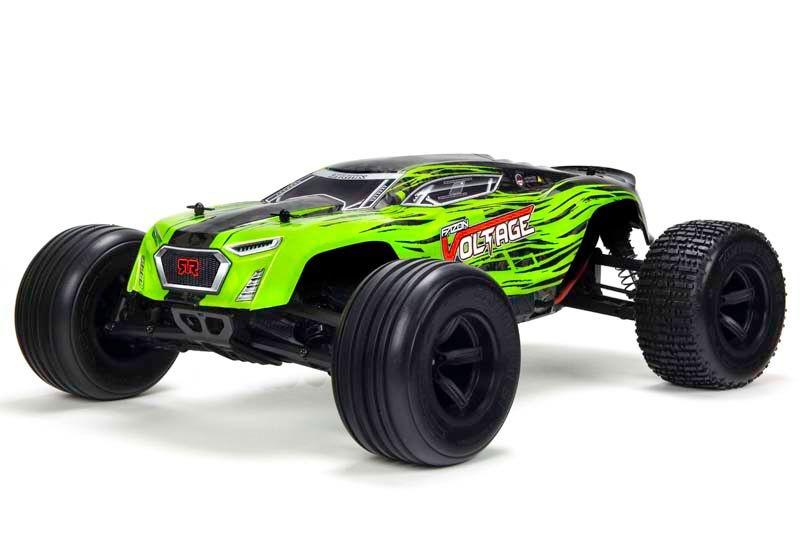 Fazon Voltage 2WD 1/10 Monster Truck RTR grün/schwarz